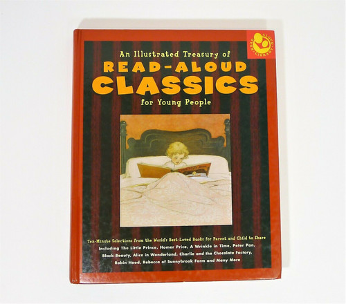 An Illustrated Treasury of Read-Aloud Classics for Young People Hardback Book
