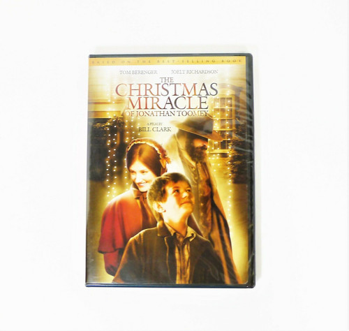 The Christmas Miracle of Jonathan Toomey DVD - NEW SEALED