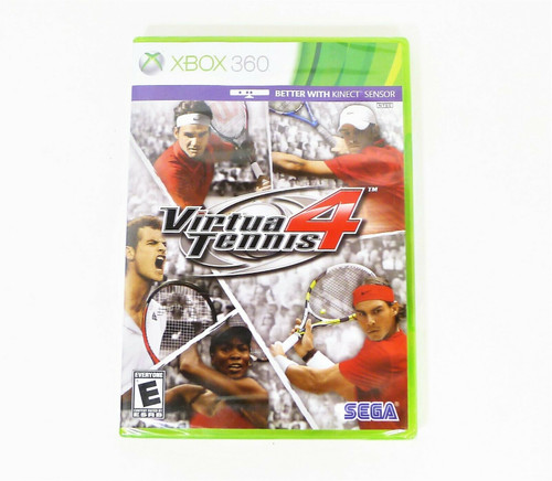 Microsoft Xbox 360 Virtual Tennis 4 - NEW SEALED