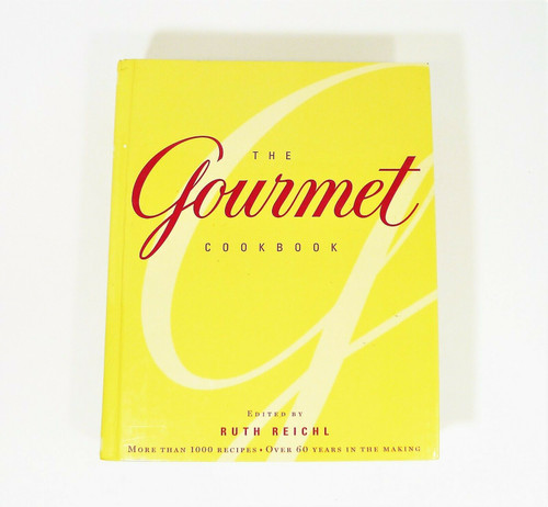 The Gourmet Cookbook More Than 1000 Recipes Hardback Book Cookbook