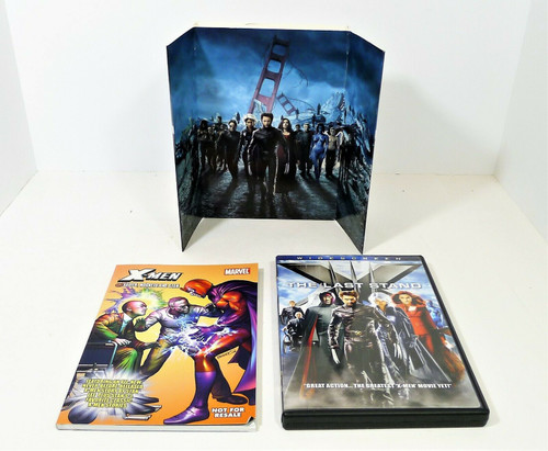 X-Men The Last Stand Widescreen DVD Collector's Edition with Comic Book