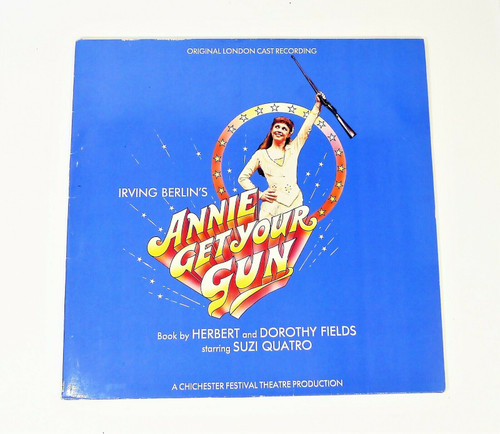 Annie Get Your Gun Vinyl  LP Record Original London Cast Recording