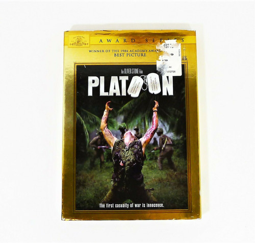 Platoon Special Edition MGM Award Series DVD