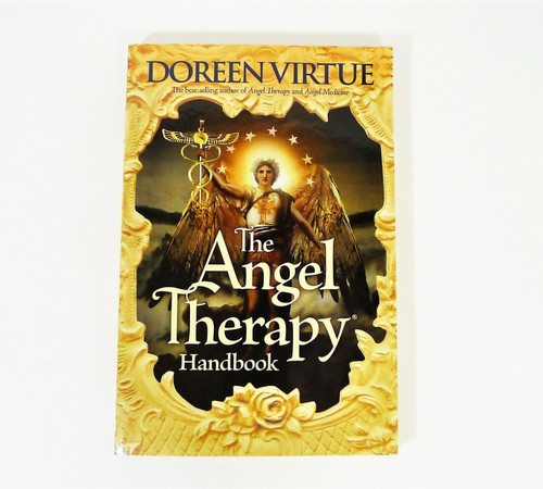 The Angel Therapy Handbook Paperback Book by Doreen Virtue