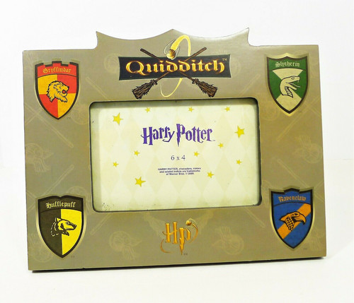 "Harry Potter Quidditch Wall Standing Picture Frame for 6"" x 4"" Horizontal Photo"