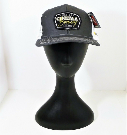 Richardson Gray America's Cinema Brewery Truckers Cap Hat One Size NEW WITH TAGS