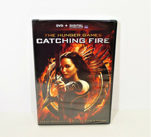 The Hunger Games Catching Fire DVD - NEW SEALED