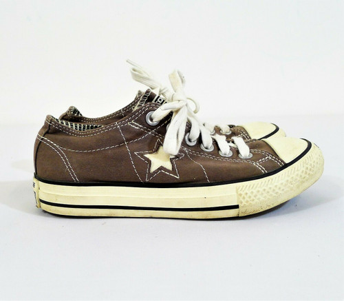 Converse Women's Gray One Star Low Top Shoes Size 5.5 - 507922FT