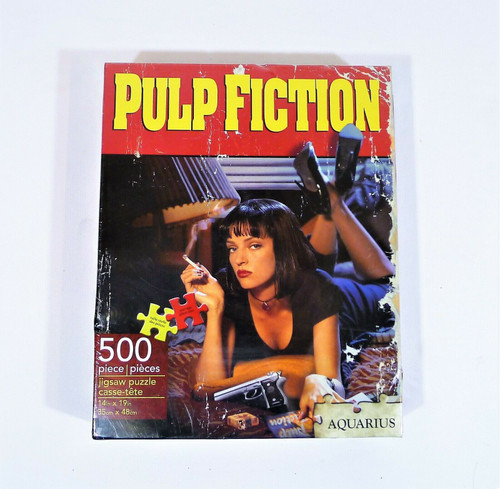 Aquarius Pulp Fiction 500 Piece Jigsaw Puzzle - NEW SEALED