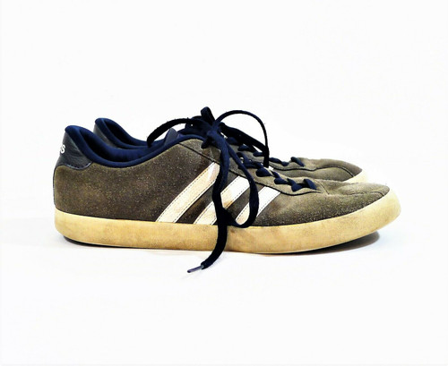 Adidas Men's Gray Suede Leather Athletic Shoes Size 13 - BC0140
