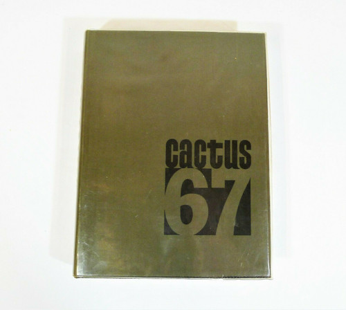 67 Cactus Yearbook The University of Texas at Austin Hardback Book