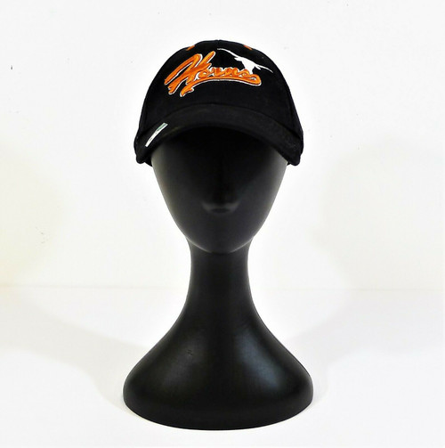 "Captivating Headgear Black Texas Longhorns ""Horns"" Silver Series Cap"