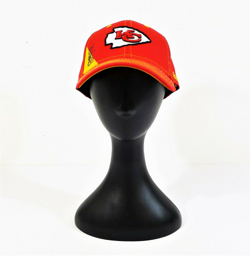 Reebok NFL Team Apparel Red Kansas City Chiefs Cap Hat Size Large/ X-Large