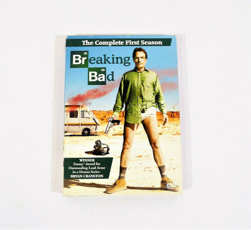 Breaking Bad The Complete First Season DVD 3-Disc Set