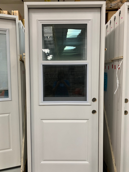 Panel Vented Lite Pre-Hung Door (Local Pkup)