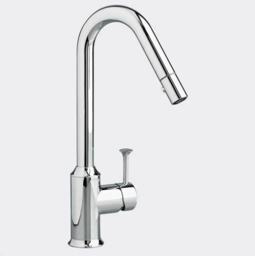 American Standard Pekoe 1-Handle Pull Down High-Flow Kitchen Faucet Chrome NEW