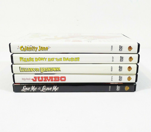 Set of 5 Doris Day Classic DVD's - Calamity Jane, Love Me or Leave Me and More