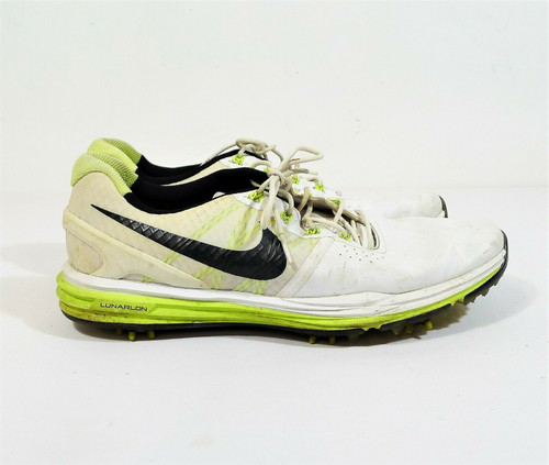 Nike Men's White Lunar Control 3 Golf Shoe Size 10 **SEE DESCRIPTION
