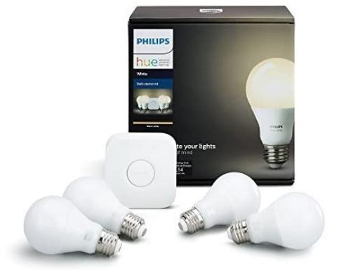 Philips Hue White A19 LED Starter Kit Model 530360 - NEW IN BOX