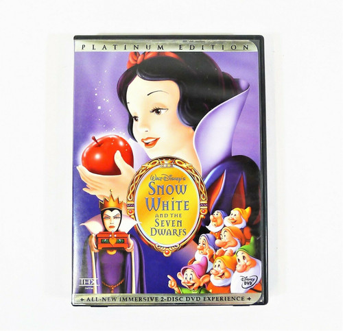 Snow White and the Seven Dwarfs DVD 2-Disc Set Platinum Edition