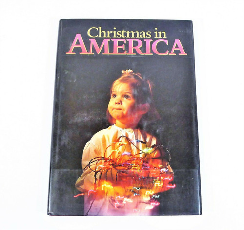 "Christmas in America Hardback Book 14.25"" x 10.25"""
