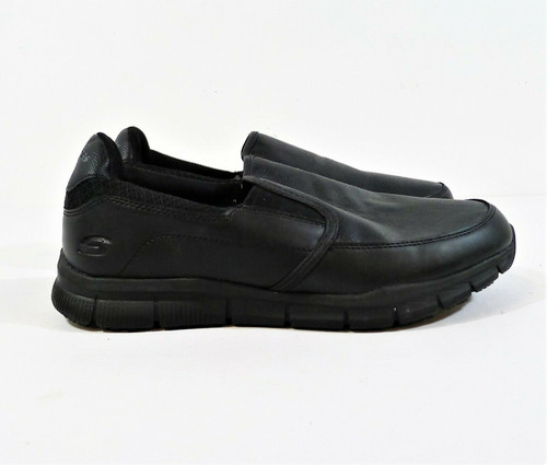 Skechers Men's Nampa-Groton Food Service Shoes Wide Fit Size 9.5 - 77157W