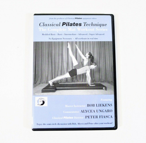 Classical Pilates Technique DVD The Complete Mat Workout Series