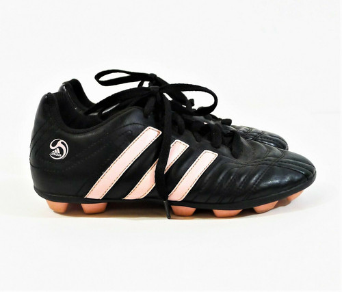 Adidas Girls Youth Black/Pink TRX HG J Soccer Cleats Shoes Size 5