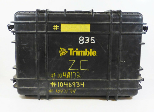 "Trimble Large Black Carry Case with Inside Padding 29"" L x 20"" W x 10"" T"