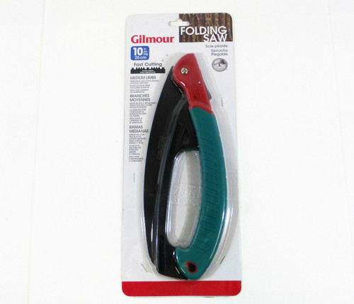 Gilmour 10-inch Triple Edge Folding Saw for Medium Limbs NEW