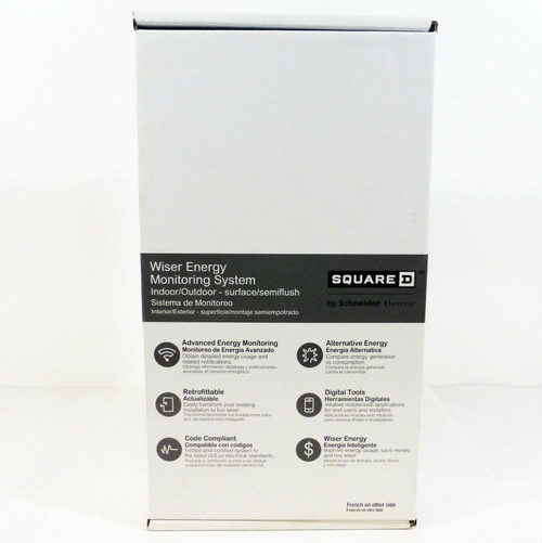 Square D by Schneider Wiser Energy Load Center Monitoring System WEMS12  NEW
