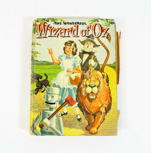 Vintage The Wonderful Wizard of Oz 1957 Hardback Book **SEE DESCRIPTION