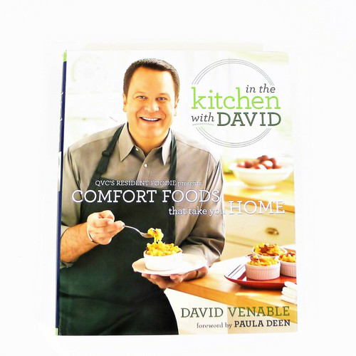 In the Kitchen with David Comfort Foods Cookbook Hardback Book