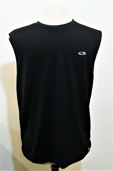 Champion Men's Black Sleeveless Dri-Fit Tank Top Shirt Size M