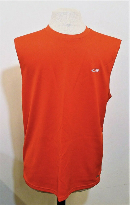 Champion Men's Red Sleeveless Tank Top Shirt Size M