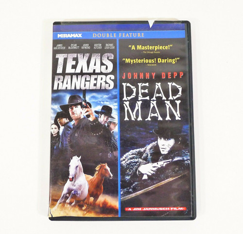 Miramax Double Feature Texas Rangers and Dead Man DVD