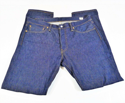 Levi Strauss & Co Men's 511 Zippered Fly Straight Leg Blue Jeans Size W36 L32