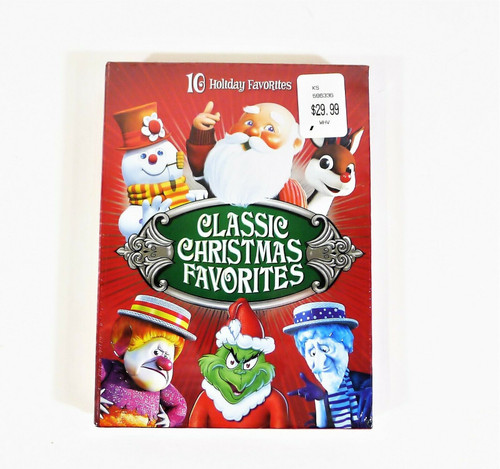 Classic Christmas Favorites DVD Set 10 Holiday Favorites - NEW SEALED