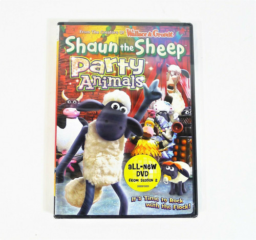 Shaun the Sheep Party Animals DVD - NEW SEALED