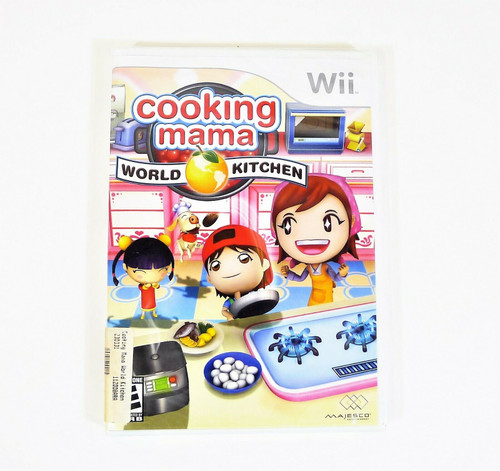 Nintendo Wii Cooking Mama World Kitchen Video Game - NEW SEALED