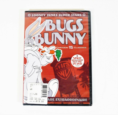 Looney Tunes Super Stars Bugs Bunny Hare Extraordinaire DVD - NEW SEALED