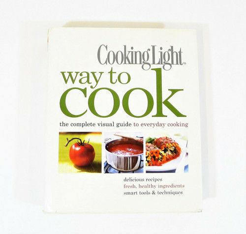 Cooking Light Way to Cook Cookbook Hardback Back - INSCRIBED