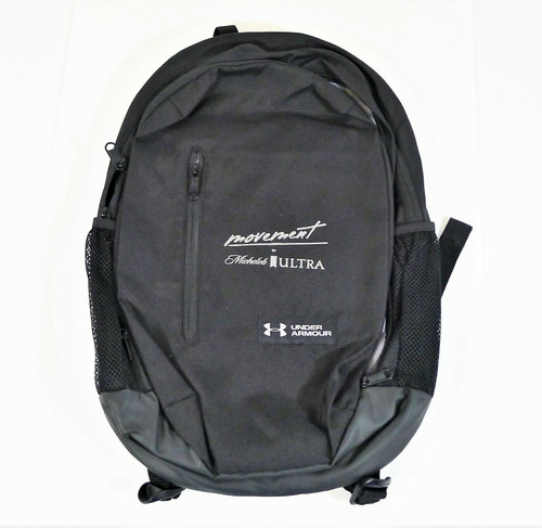 "Under Armour ""Movement by Michelob Ultra"" Black Backpack"