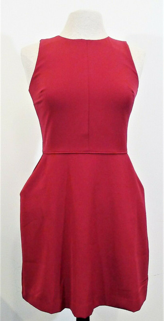 Gap Women's Very Berry Fit and Flare Dress Size 2P - NEW WITH TAGS
