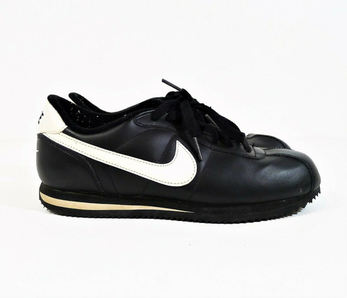 Nike Youth Black/White-Black Cortez GS Grade-School Shoes Size 6 Y - 315922-011