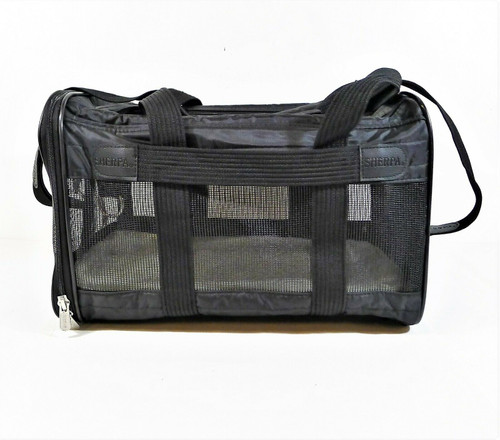 Sherpa Original Deluxe Lattice Print Airline-Approved Dog/Cat Carrier Bag Medium