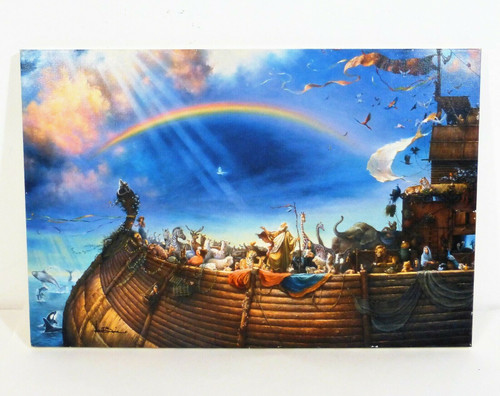 """The Promise by Tom duBois 10"""" x 15"""" Signed Canvas Print - Somerset Publishing"""