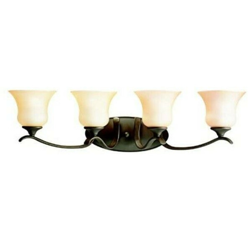 Kichler Wedgeport 4-Light Bath Vanity in Olde Bronze  5287-OZ   NEW - OPEN BOX