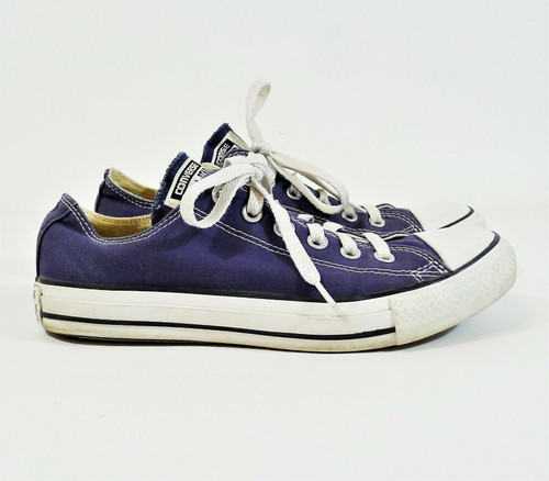 Converse Women's Navy Chuck Taylor All Star Low Tops Shoes Size 9 - SEE DESCR
