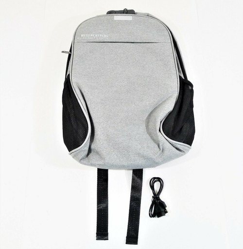Meilirensheng Gray Backpack A Great Bag A Great Me - NEW IN PACKAGE